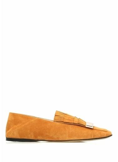 %100 Süet Loafer Ayakkabı-Sergio Rossi